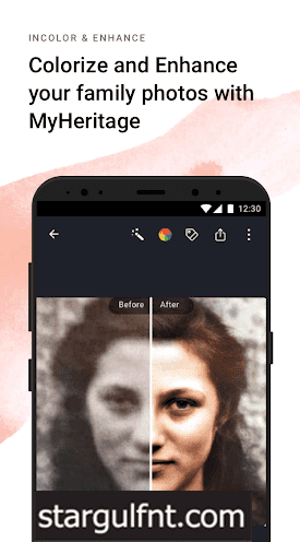 مميزات تطبيق MyHeritage - Family tree, DNA & ancestry search