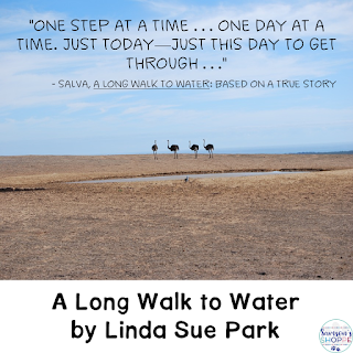 A Long Walk to Water, novel unit, young adult