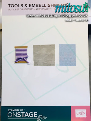 Tools & Embellishments NEW Stampin' Up! Products #onstage2019 Display Board from Mitosu Crafts UK