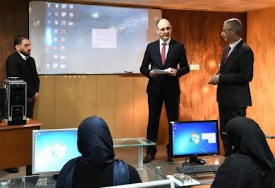 الحمداني يفتتح دورة أساسيات الحاسبة في وزارة الثقافة