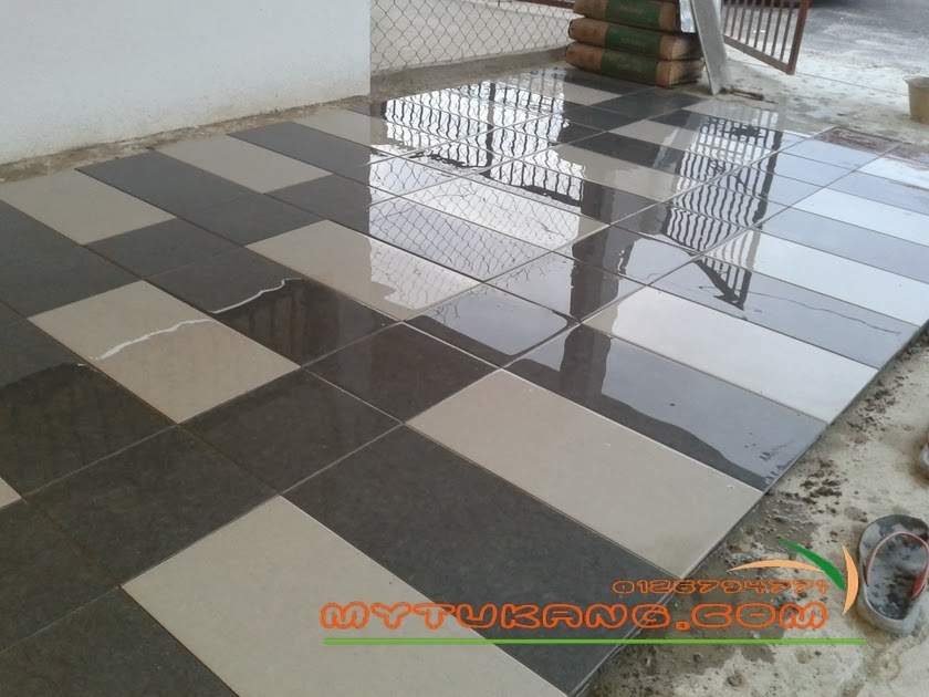 Corak Tiles Porch Kereta Tile Design Ideas