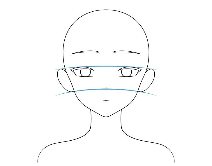 Gambar telinga gadis anime cantik