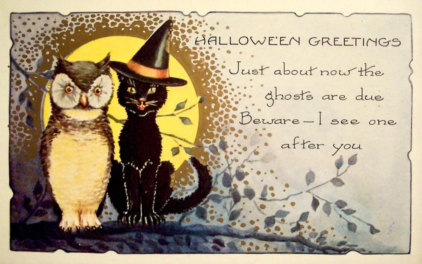 Открытки на английском на хэллоуин