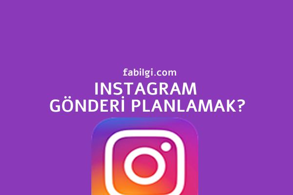 Instagram Gönderi Planlama Uygulaması Kendi Paylaşsın 2021