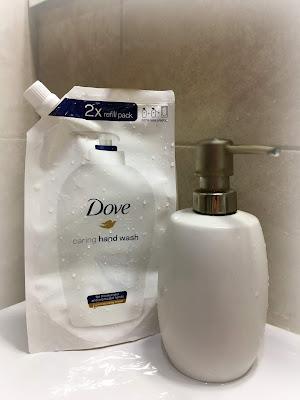 Dove Caring Hand Wash