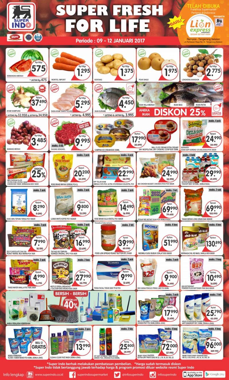 Katalog Promo Superindo Awal Pekan 9 12 Januari 2017 Voucher Rp 300000 Oke Agar Tidak Terlalu Berlama Lama Lagi Langsung Saja Kita Simak Produk Apa Yang Masuk Dalam Daftar Kali Ini