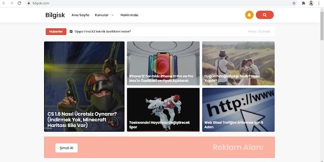 Seo ve Mobil Uyumlu Türkçe Blogger Teması