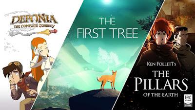 3 novos jogos grátis Epic Games