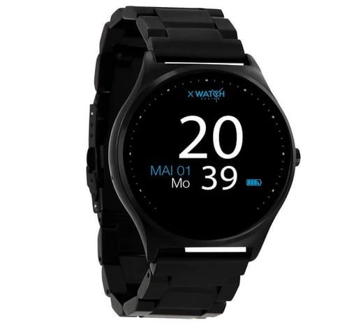 X-WATCH Qin XW PRO Dark Steel Ultra Slim Smart Watch