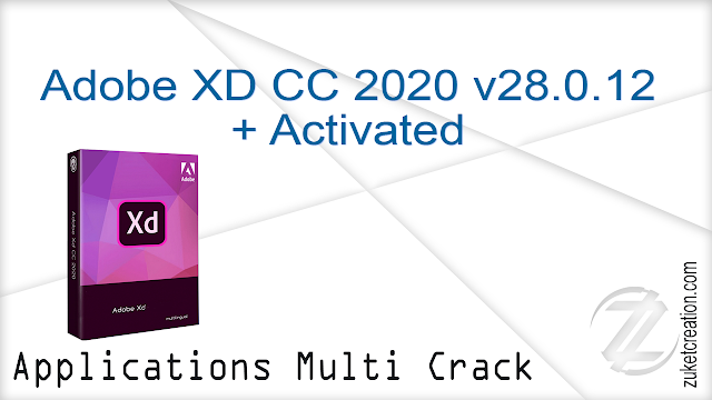 Adobe XD CC 2020 v28.0.12 + Activated