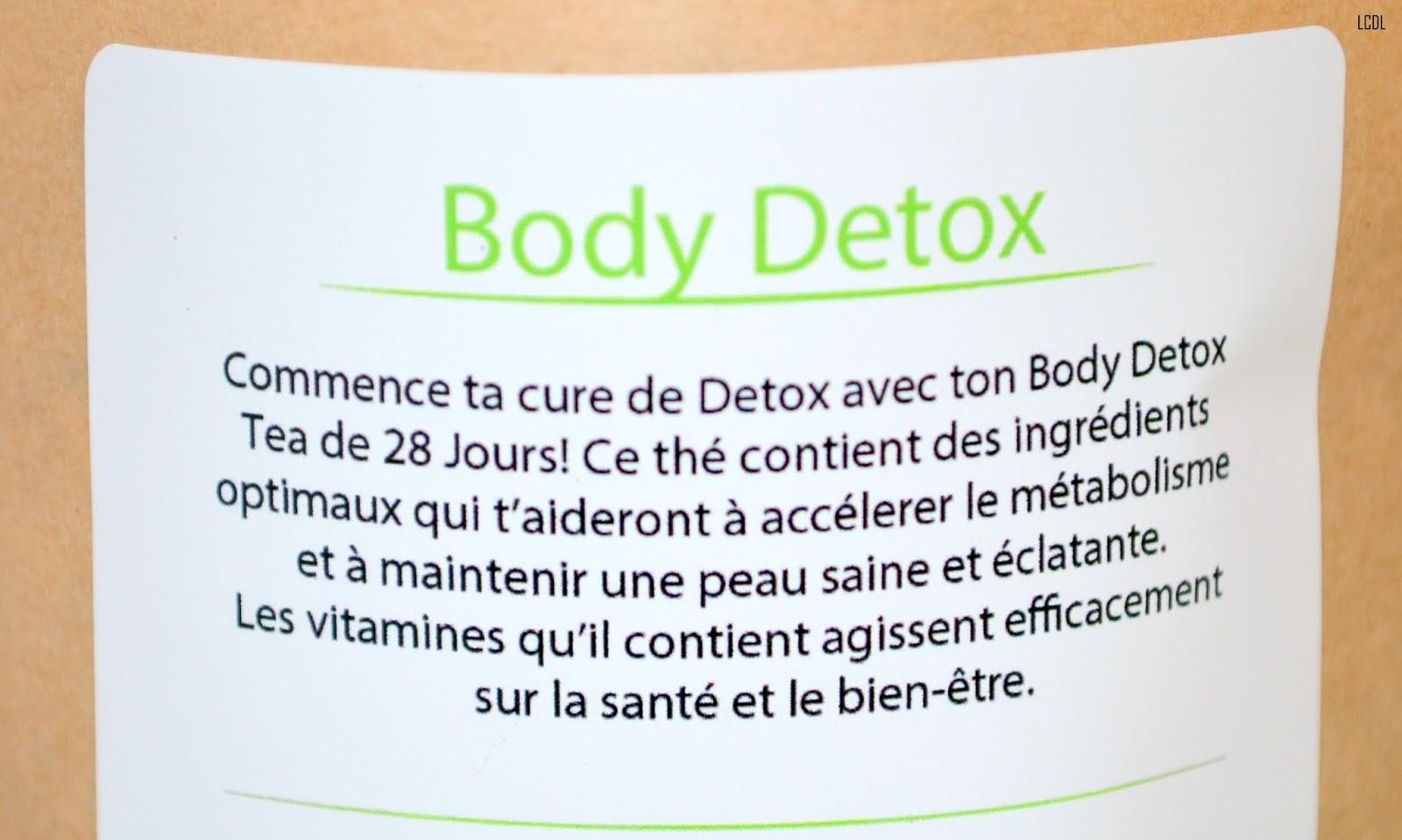 j 39 ai test le body detox tea 28 jours de fitvia les confidences de lizzie blog beaut et bien. Black Bedroom Furniture Sets. Home Design Ideas
