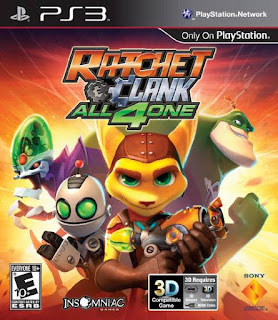 Ratchet & clank all 4 one PS3 Torrent