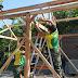 Bersinergi, Yonarmed 12/Divif 2 Kostrad Bersama ICN Peduli Gelar Bedah Rumah