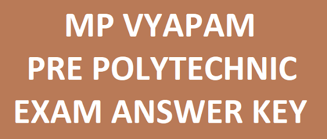 MP PPT Answer Key