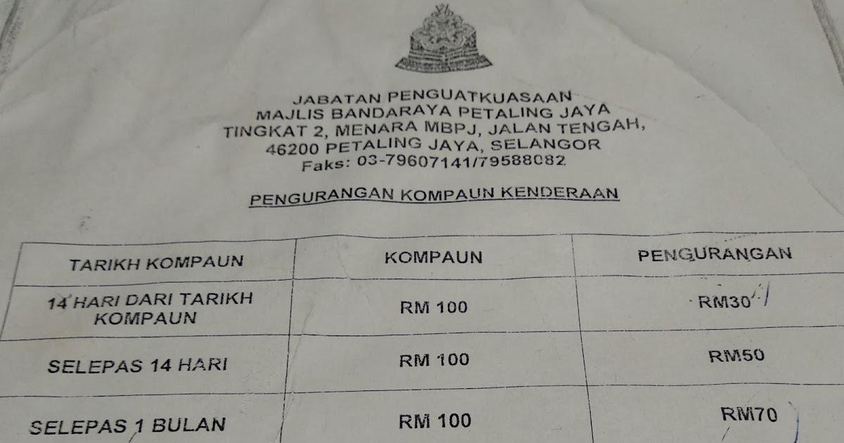The Ranting Cynic Paying Mbpj Kompaun In 2018