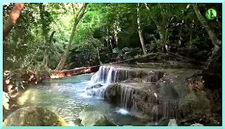Sound of waterfall for relaxing