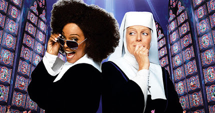 Sister Act preaching at Solaire's The Theater