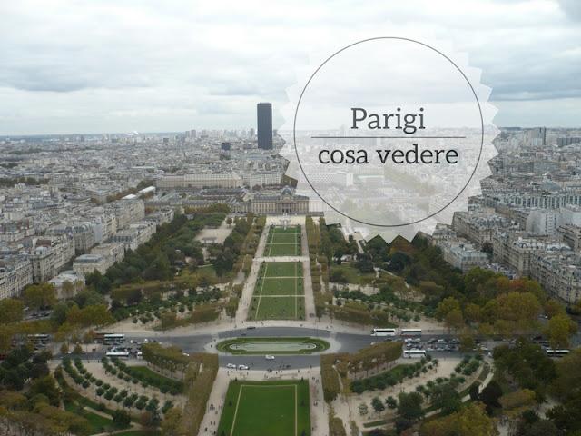 Cosa vedere a Parigi in 3 giorni: panorama dalla tour eiffel