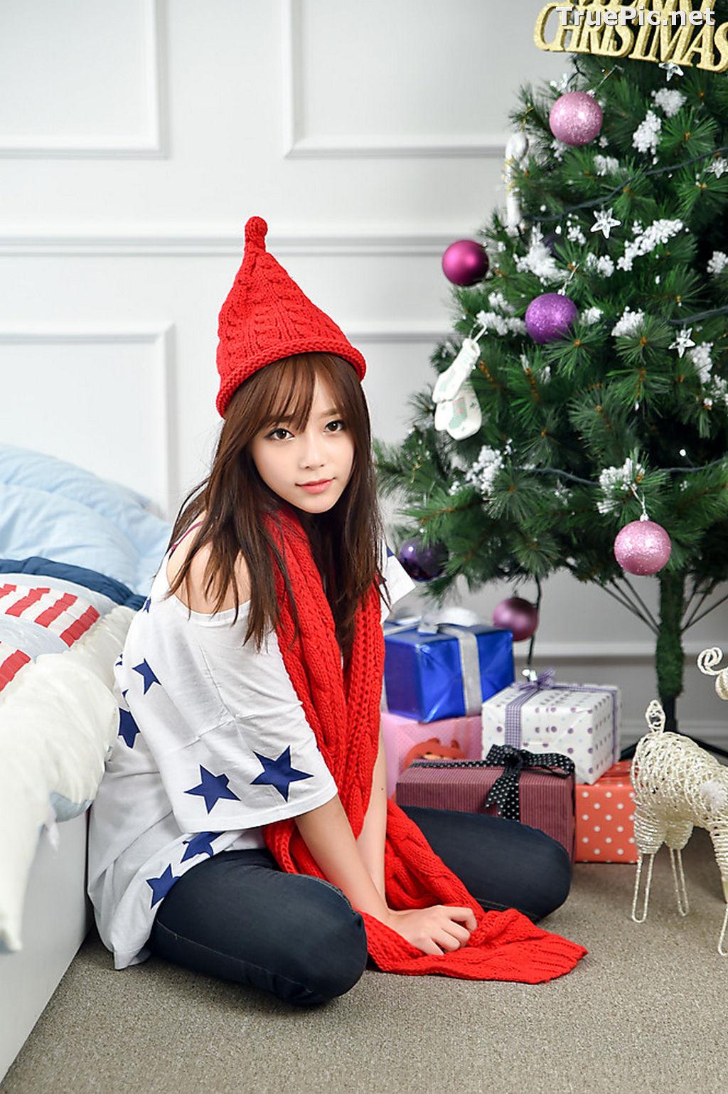 Image Korean Beautiful Model – Ji Yeon – My Cute Princess #2 - TruePic.net - Picture-5