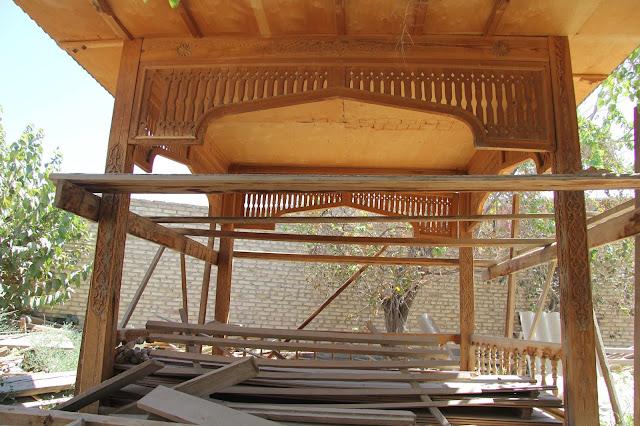 Ouzbékistan, Boukhara, tapchane, tapshan, © L. Gigout, 2012