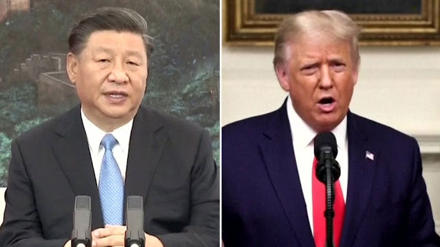 Trump dan Jinping Perang Kata di Sidang Umum PBB, Dunia Masuki Perang Dingin Baru?