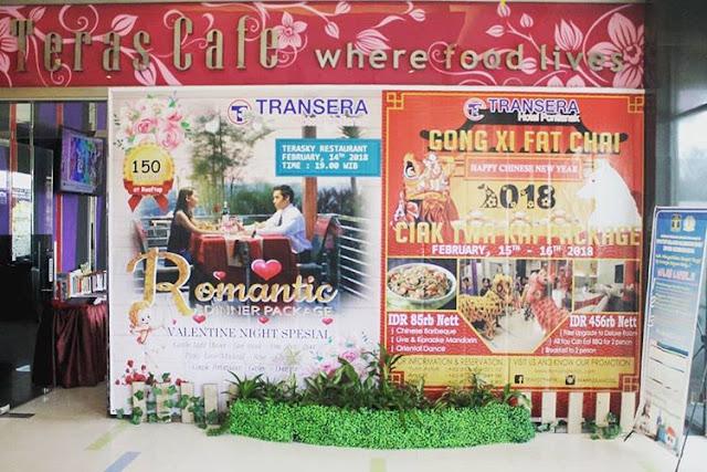 Valentine promo di Terasky Palembang