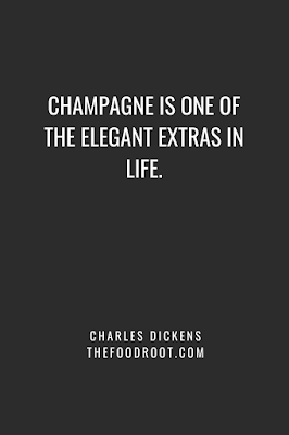 Champagne is one of the elegant extras in life.