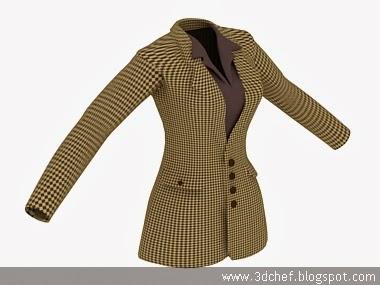 cloth 3d model free