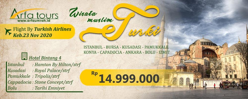 wisata halal turki tour