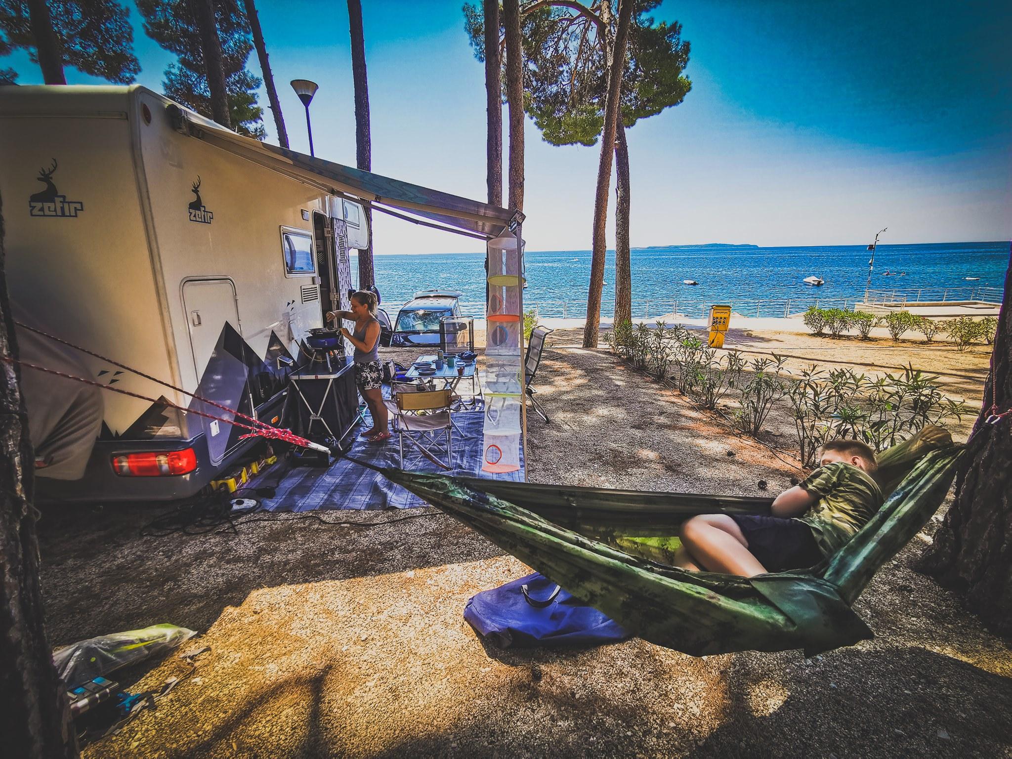 Big  Trip 2020 -  Losinj - camp Cikat