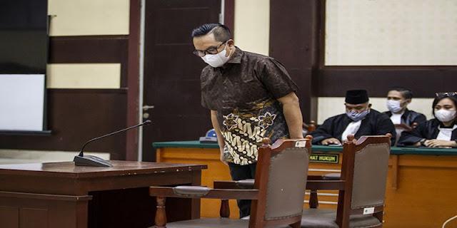 Suap Red Notice, Brigjen Prasetijo Utomo Divonis 3 Tahun Penjara