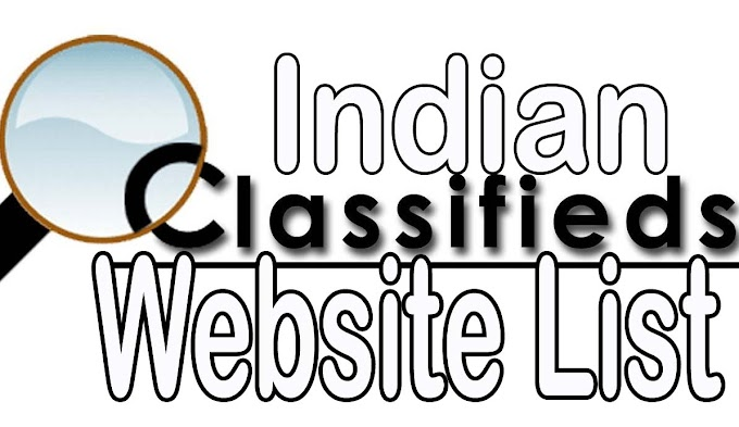 India`s Most Popular ad posting classifieds website List 2020,  Top Best classified listing in India.