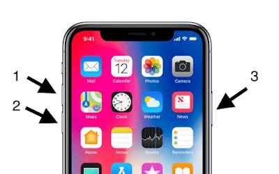 3 Langkah Mudah Cara Hard Reset dan Restart iPhone X