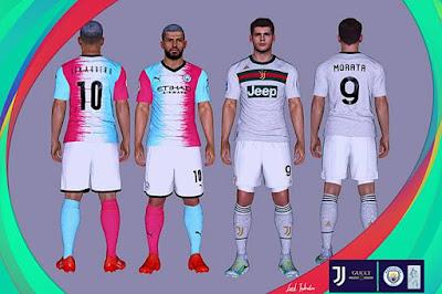 Juventus x Gucci & Man City Winner Contest Kits