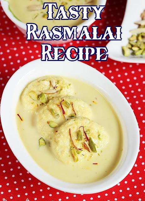Tasty Rasmalai