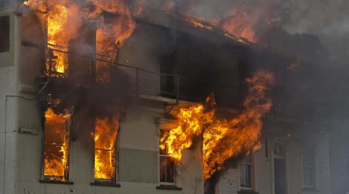 Óriási területen lángolt egy laktanya Nagykanizsán