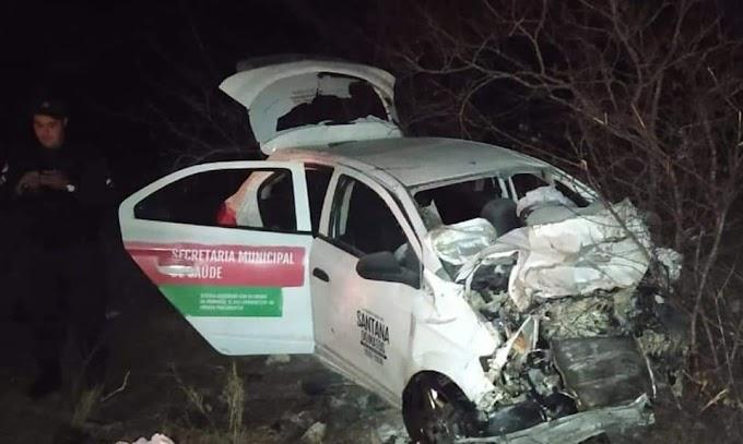 Acidente automobilístico próximo a Lajes deixa duas santanenses mortas, Rosa de Alice e sua filha Bia