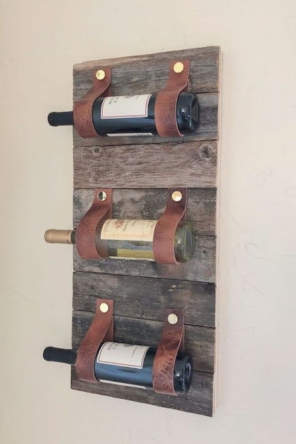 porta vinhos rústico