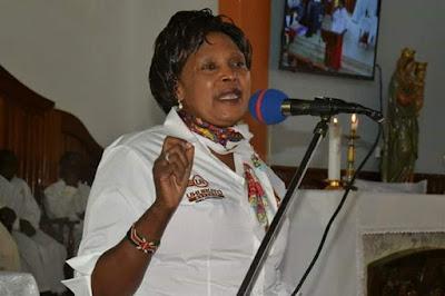 Former Othaya MP Mary Wambui. PHOTO | NMG