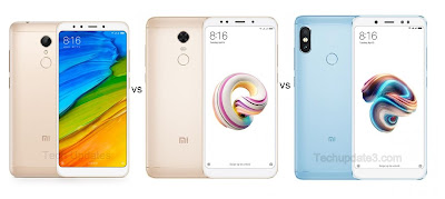 Xiaomi Redmi 5 vs Xiaomi Redmi Note 5 vs Xiaomi Redmi Note 5 Pro