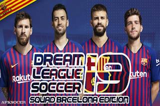 Download New Dls 19 Mod Edition Barca Full Team Apk + Data Obb 1