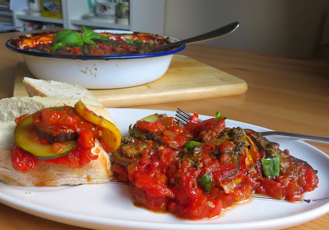 Baked Ratatouille for Two