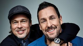 Brad Pitt y Adam Sandler debaten sobre lo bueno y lo malo de Netflix