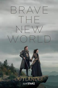 Capa Quarta Temporada de Outlander