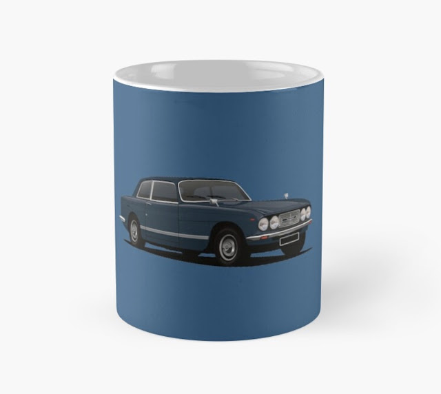 bristol 411 s5 - classic car  coffee mug