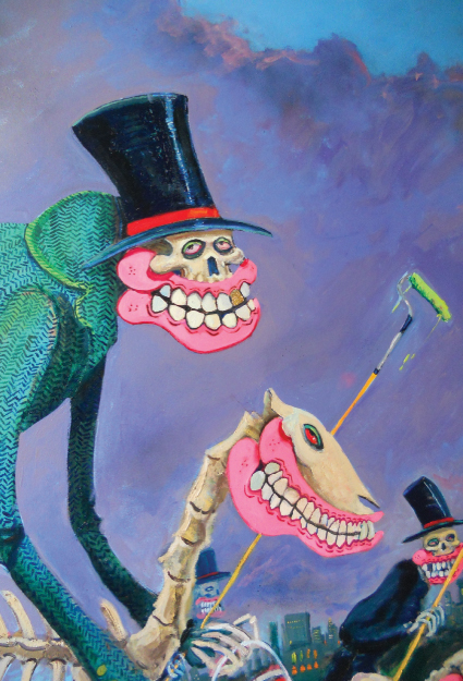 London Street Artist Sweet Toof NY Solo show