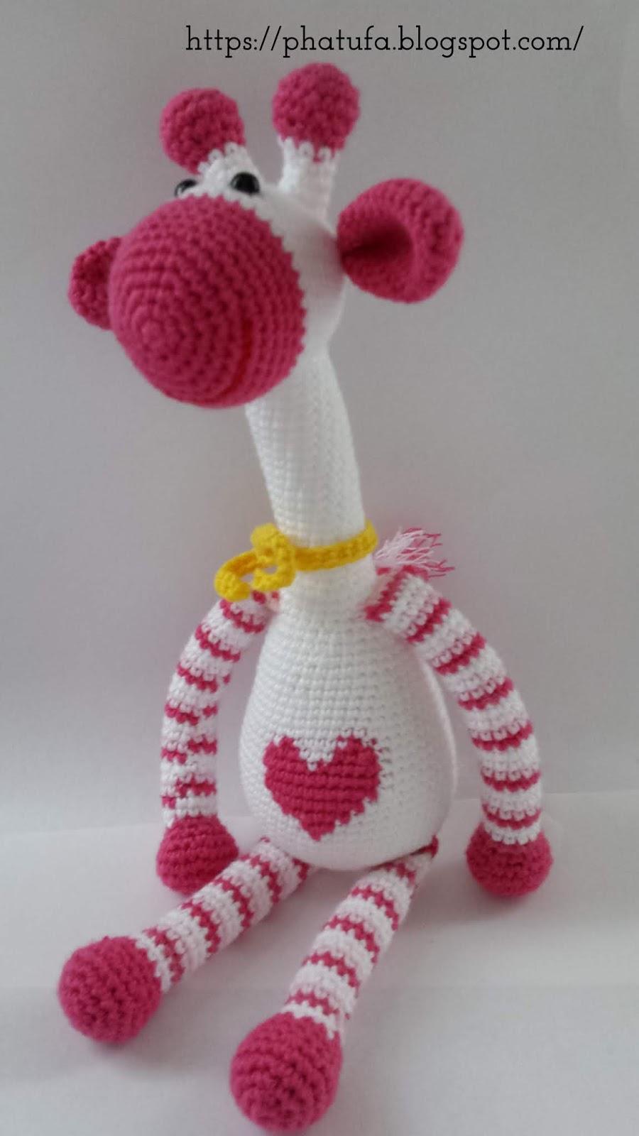 Hearty Giraffe amigurumi pattern - Amigurumi Today | 1600x900