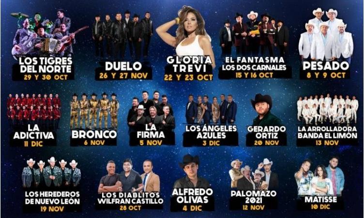 Feria Guadalupe Conciertos y Boletos