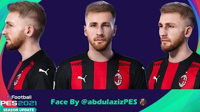 PES 2021 Faces Alexis Saelemaekers by Abdulaziz