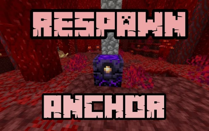 How to respawn in nether using respawn anchor